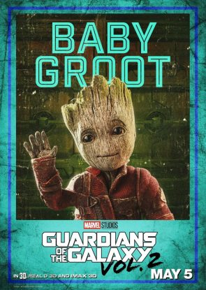 Guardians of the Galaxy Vol 2 Character Posters