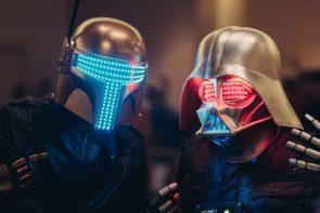DJ Star Wars Helmets