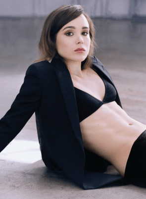 Ellen Page has a tight tummy