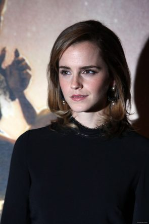 Emma Watson Beauty and the Beast Photocall in London Feb 24015