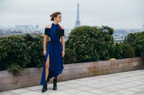 Emma Watson in Paris