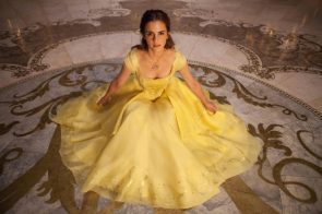 Emma Watson is a beast in a yellow dress