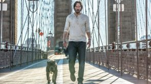 John Wick and his new dog