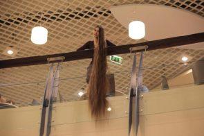 Long Hair at the mall