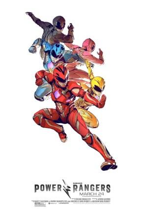 Power Rangers – Lightning Kick Poster.jpg