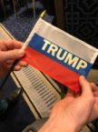 Russian Trump Flag