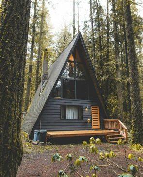 Rustic Triangle Cabin