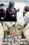 Star Wars as an Adult