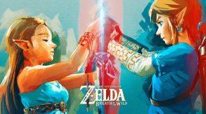 The Legend of Zelda Water Color Wallpaper