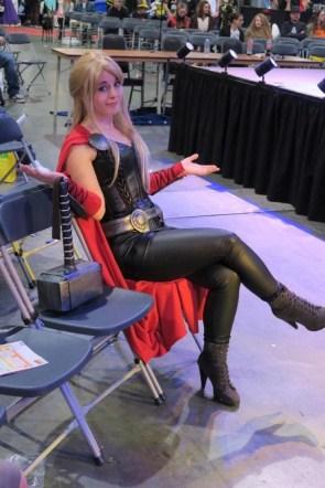 Thor Saving A Seat