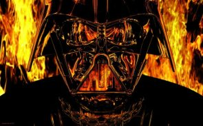 Vader In Flames