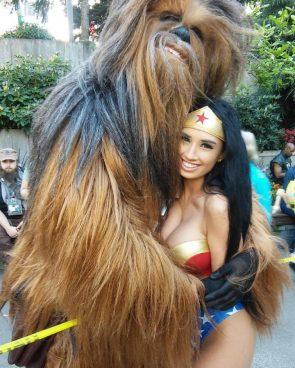 WW with a Wookie