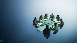 Water Leaf Meeting