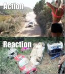 action v reaction