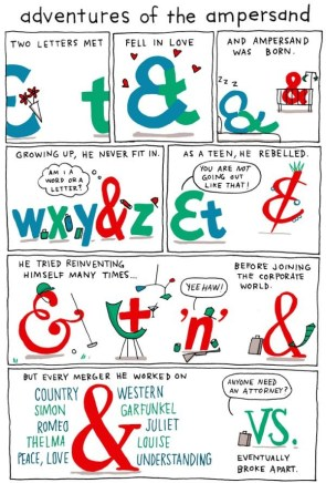 adventures of the ampersand