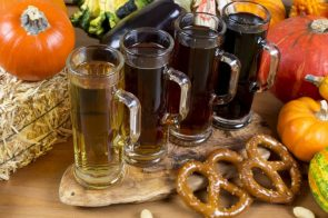 beer types with pretzels