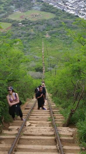 steep trail