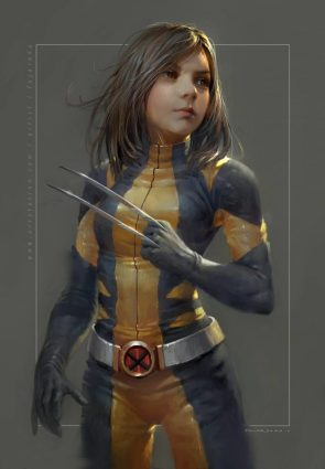 x-23 in classic wolverine costume