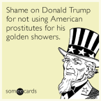 shame on trump