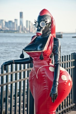 Alien Latex Woman