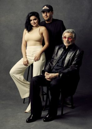 Ariel Winter with old man