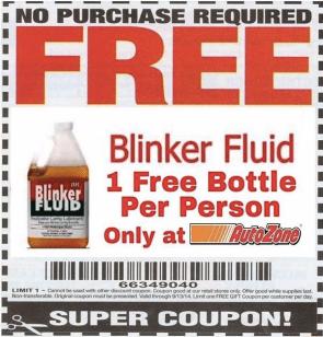 Free Blinker Fluid