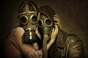 Lovely Gas Mask Couple