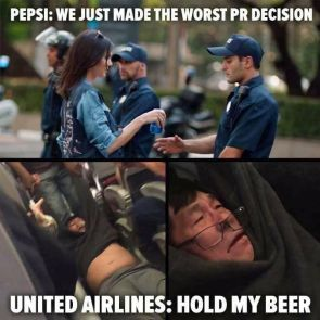 Pepsi and United