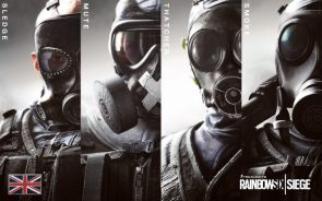 Rainbow Six gas masks