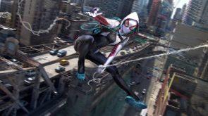 Spider-Gwen in motion