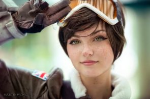 Tracer Cosplayer