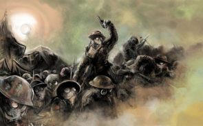 WW1 troopers