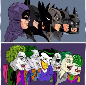 batman an joker versions