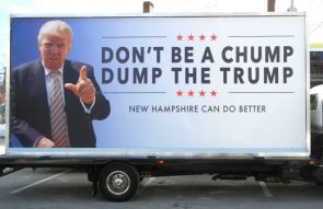 don't be a chump, dump the trump