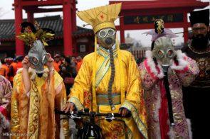 gas mask festival