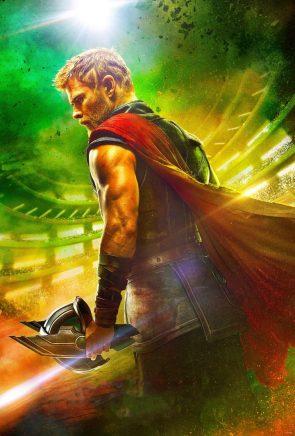 Textless Thor Ragnarok poster