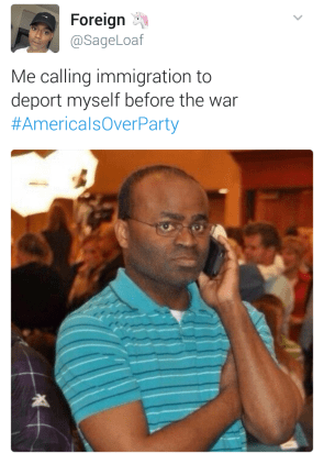 immigration war