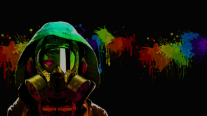 paint ball gas mask