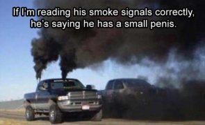 reading smoke signals