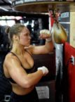 ronda rousey training camp