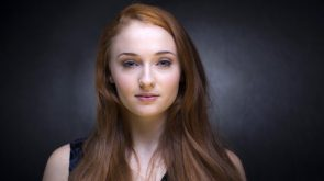 sophie turner has nice eyes
