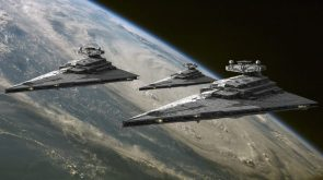three star destroyers checking out