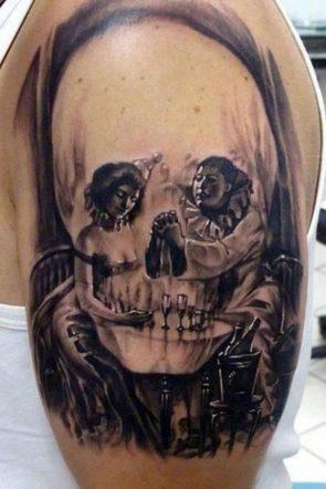 visually tricky tattoo