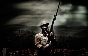 world war one trooper