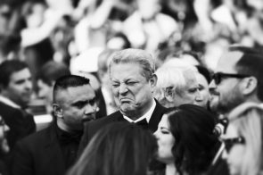 Al Gore at the 2017 Cannes Film Festival, photo by Mike Marsland