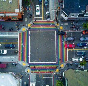 Crosswalks, San Francisco