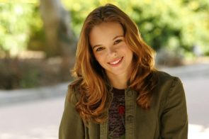 Danielle Panabaker gives you an inviting smile