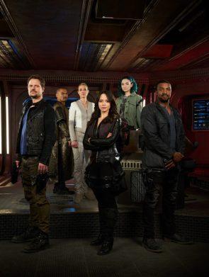 Dark Matter crew is very serious