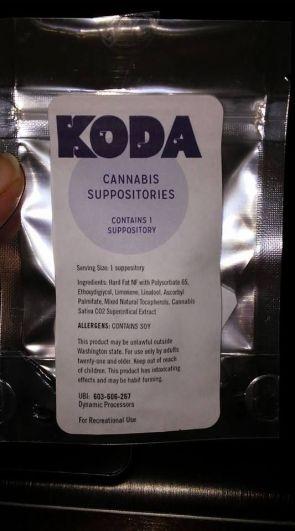 Koda Cannabis Suppositories