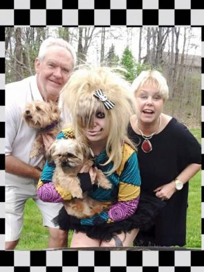 Kooky family photo